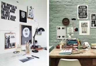 Креативное оформление рабочего места творческого человека