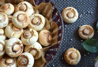 Рецепт вкуснейшего печенья «Грибочки», которое понравится всем
