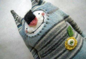 Игрушки из свитеров: радуем детей необычными переделками