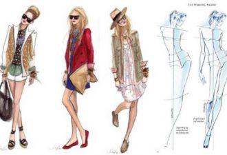 Основы рисования поз для грамотной fashion-иллюстрации