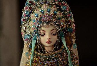 Реалистичные фарфоровые куклы Марины Бычковой